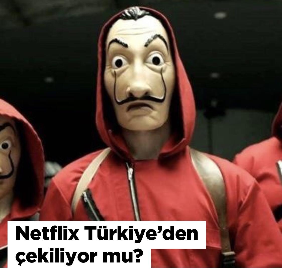 """Netflix Türkiye""""den Çekiliyor mu?"""