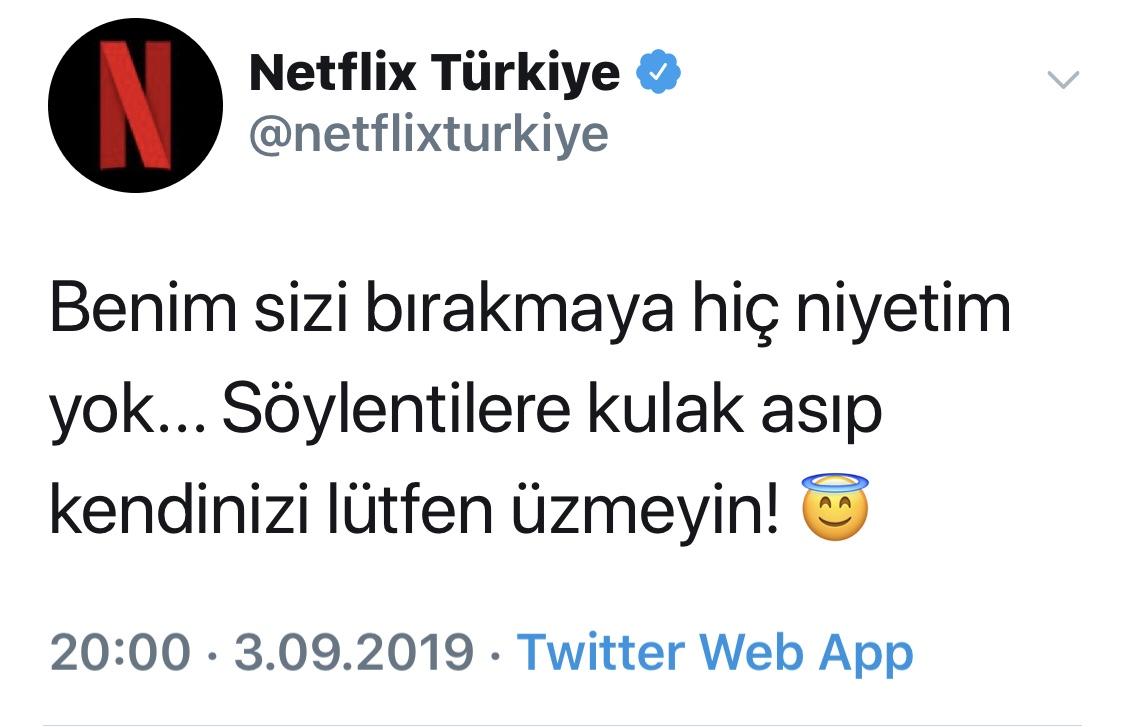 Netflix'den Açıklama Var