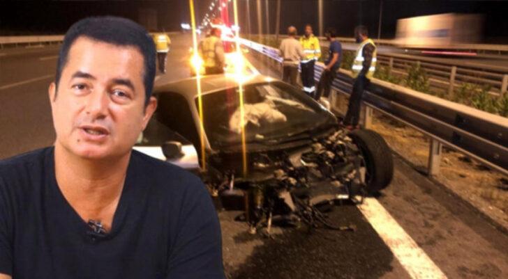Acun Trafik Kazası Geçirdi