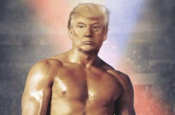 Trump'ın Yeni Pozu
