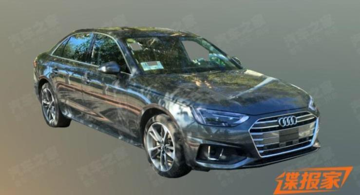 Audi A4'ü Çin İçin Uzattı