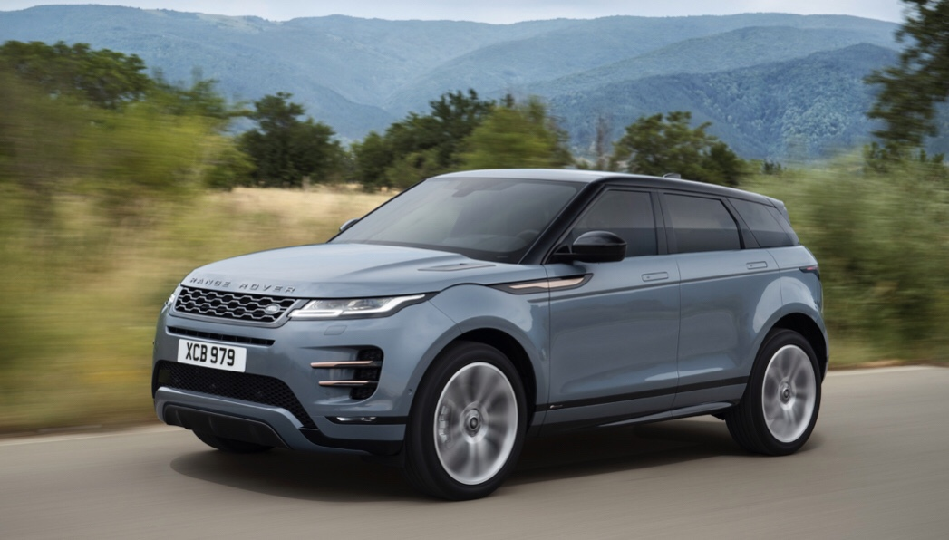 Yeni Range Rover Evoque Borusan Showroom'larında